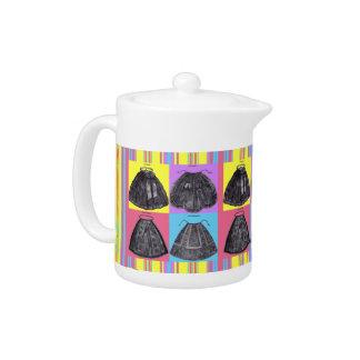 Victorian Aprons ~ Spring ~ Teapot