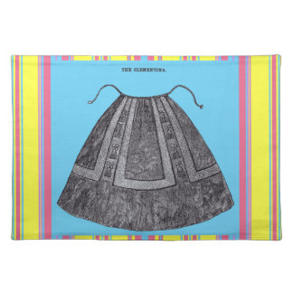 Victorian Aprons ~ Spring ~The Clementina Placemat