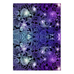 Victorian Arabesque, ALAMEDA - Navy & Purple Business Cards