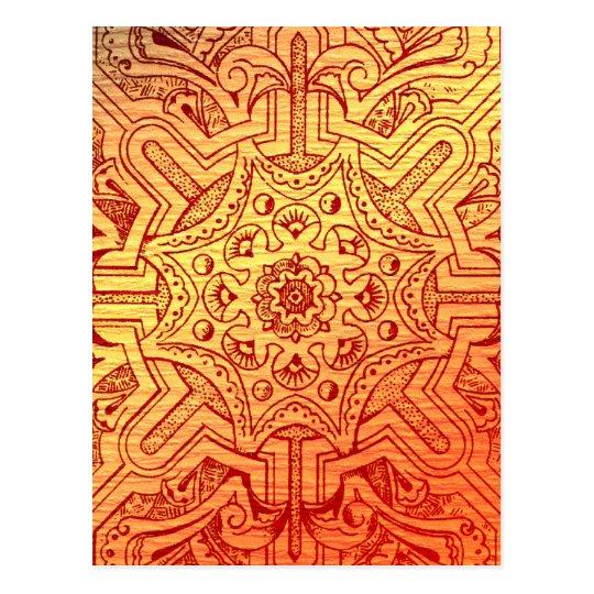 Victorian Arabesque, IDALIS - Sunset Postcard