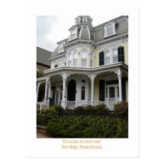 Victorian Architecture Postcard