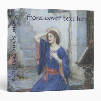 Victorian Art, Annunciation by JW Waterhouse Binder
