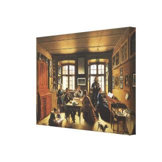Victorian Art, Basel Family Concert by Gutzwiller Canvas Print