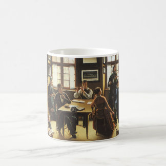 Victorian Art, Basel Family Concert by Gutzwiller Coffee Mug