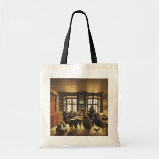 Victorian Art, Basel Family Concert by Gutzwiller Tote Bag
