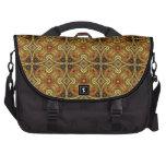 Victorian Art Deco Medieval Pattern Gold Design Commuter Bag