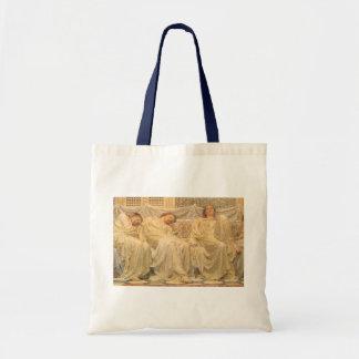 Victorian Art, Dreamers by Albert Joseph Moore Tote Bag