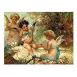 Victorian Art, Musician Angels by Hans Zatzka Postcard