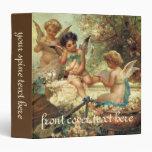 Victorian Art, Musician Angels by Hans Zatzka Vinyl Binder