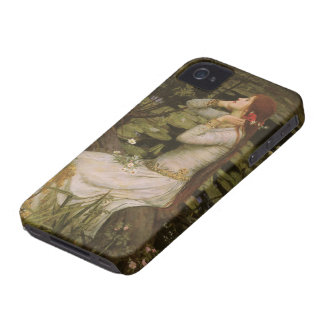 Victorian Art, Ophelia by the Pond by Waterhouse iPhone 4 Case