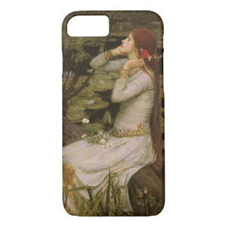 Victorian Art, Ophelia by the Pond by Waterhouse iPhone 8/7 Case