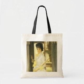 Victorian Art, Portrait of Miss Lloyd by Tissot Tote Bag