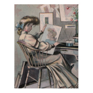 Victorian Artist Postcard