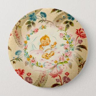 Victorian Baby Pinback Button