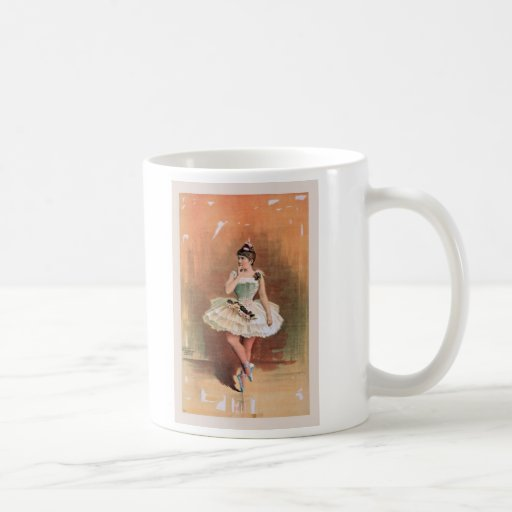 Victorian ballerina (1890) mug