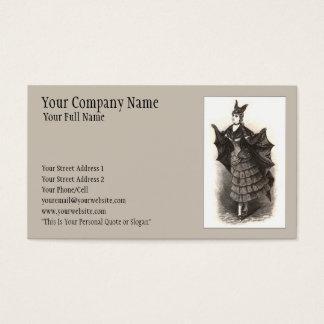 Victorian Bat - Business Card