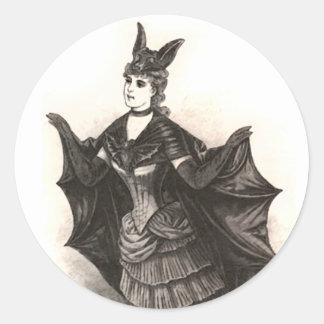Victorian Bat - Sticker #1