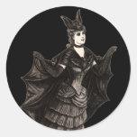Victorian Bat - Sticker #2 (Customize)