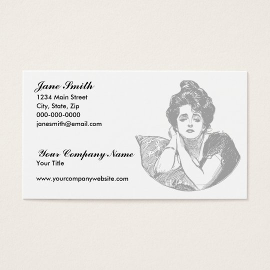 Victorian Beauty Business Card