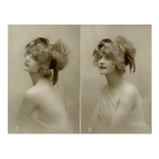 Victorian Beauty Postcard