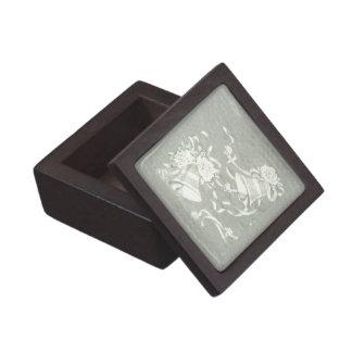 Victorian Belces de plata Caja De Regalo De Calidad