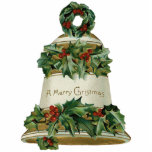 "Victorian Bell Christmas Ornament<br><div class=""desc"">Vintage Christmas ornaments for your tree. Perfect for a Victorian tree or to give as gifts! Beautiful as gift tie ons too!</div>"