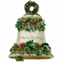 Victorian Bell Christmas Ornament