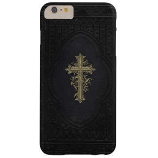 Victorian Bible with Elegant Cross Barely There iPhone 6 Plus Case