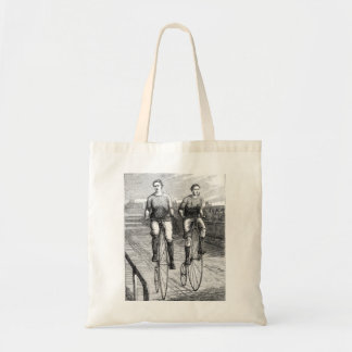 Victorian Bicycle Race Tote Bag