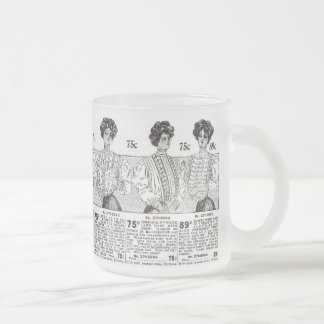 Victorian Blouses Frosted Glass Mug