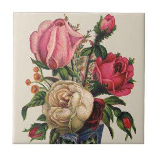 Victorian Bouquet Ceramic Tile