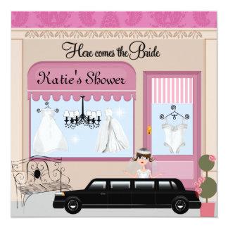 VICTORIAN BRIDAL SHOWER INVITATIONS
