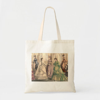 Victorian Bride and Attendants Budget Tote Bag