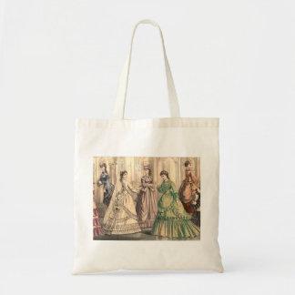Victorian Bride and Attendants Tote Bag