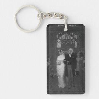 Victorian Bride Keychain