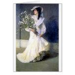 Victorian Bride Wedding Fashion Card at Zazzle