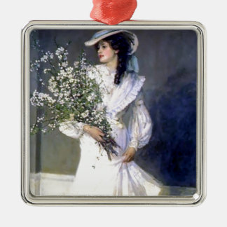 Victorian bride wedding fashion metal ornament