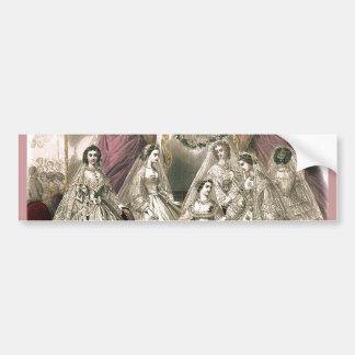 Victorian Brides Bumper Sticker