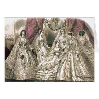 Victorian Brides Card