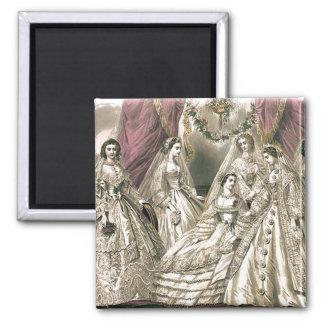 Victorian Brides Magnet