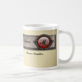 Victorian Brooch Mug Basic White Mug