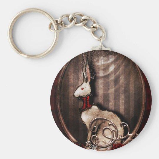 Victorian Bunneh Keychain