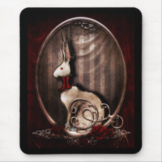 Victorian Bunneh Mouse Pad