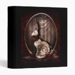 Victorian Bunneh Vinyl Binders