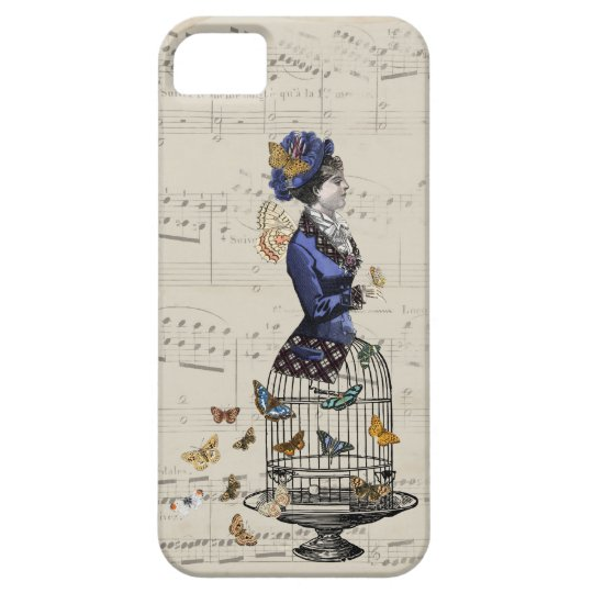Victorian Butterfly Steampunk  iPhone Case