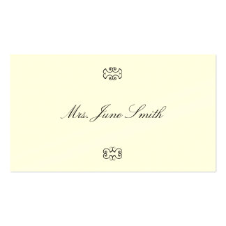 Victorian Calling Cards Business Card Template