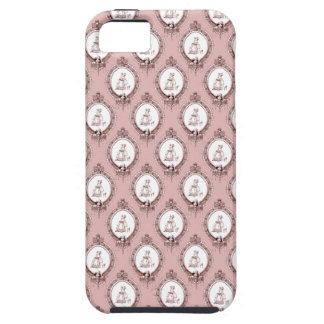 Victorian Cameos Pattern iPhone SE/5/5s Case
