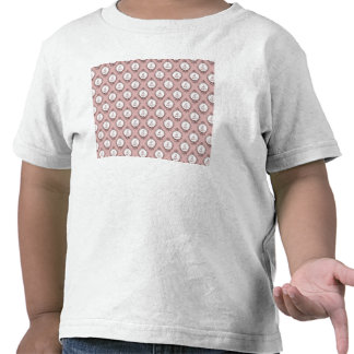 Victorian Cameos Pattern T Shirts