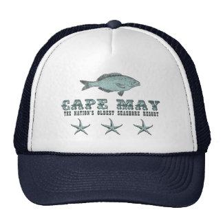 Victorian Cape May NJ Oldest Seashore Resort Fish Trucker Hat