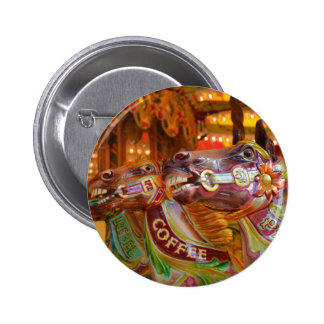 victorian carousel pinback buttons